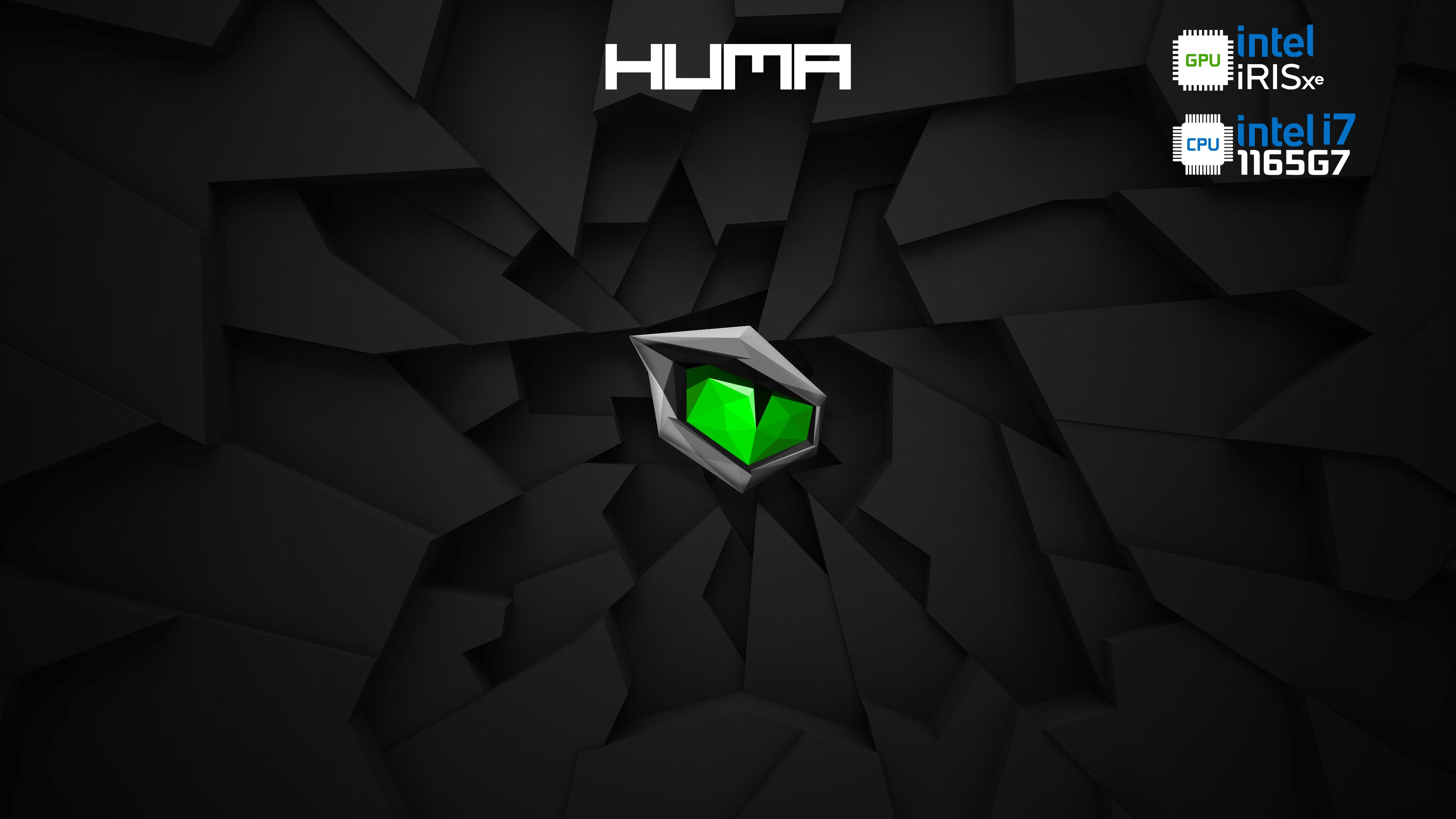 Monster -Huma - Intel Iris - i7 - 1165G7